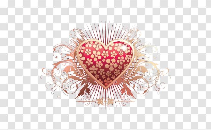 Heart Desktop Wallpaper Pink Valentine's Day - Tree - Cartoon Transparent PNG