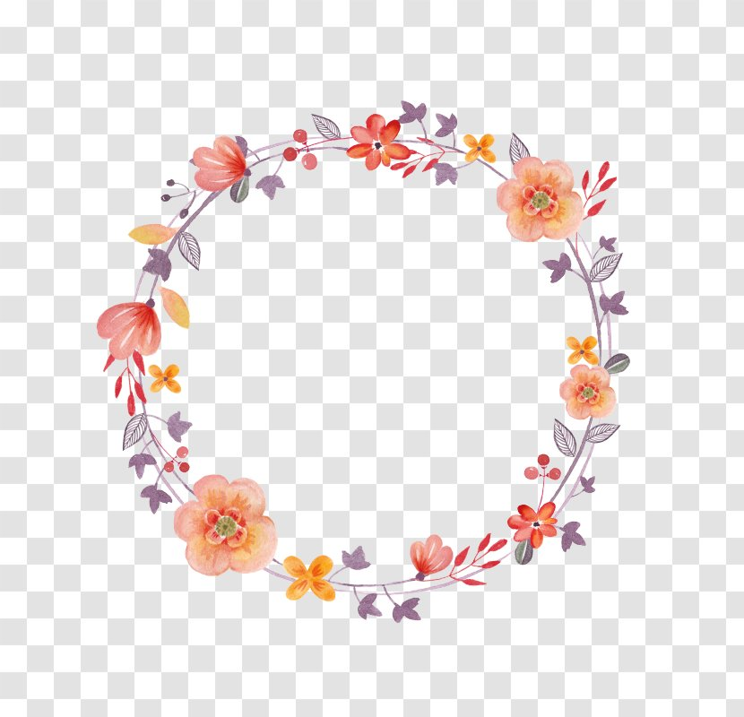 Craft Art Floral Design - Hair Accessory Transparent PNG