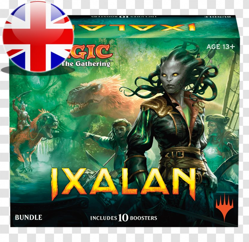 Magic: The Gathering – Duels Of Planeswalkers Ixalan Booster Pack Playing Card - Magic - Wettinge Transparent PNG