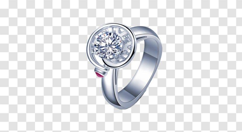 Diamond Ring Platinum Gold - Love - I,DO Watch Transparent PNG