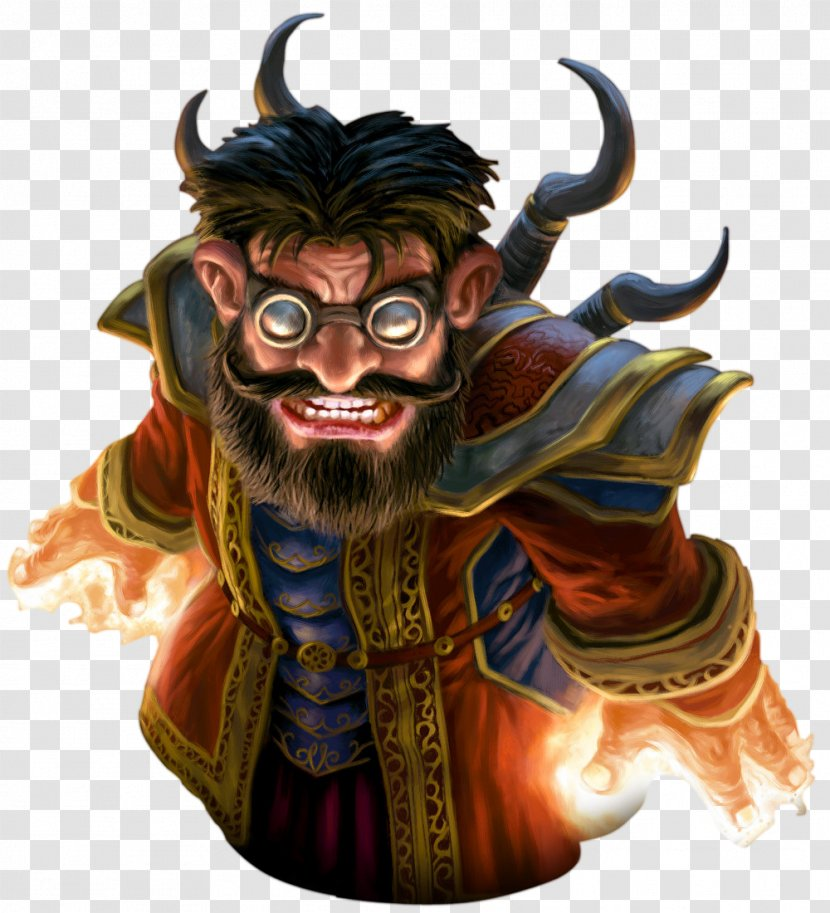 World Of Warcraft Trading Card Game Goblin Gnome Warlock - Figurine Transparent PNG