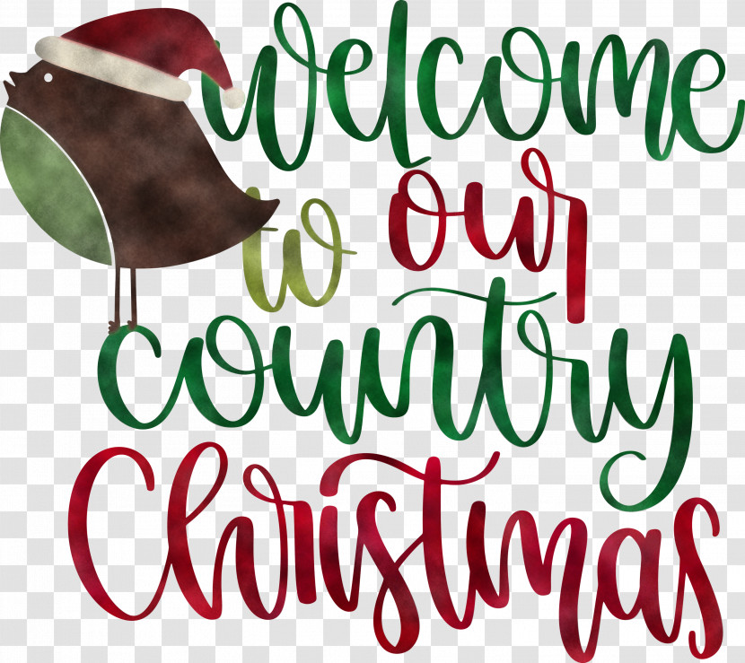 Welcome Christmas Transparent PNG