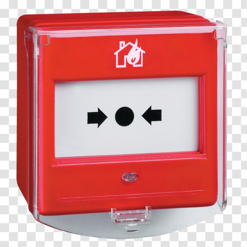Manual Fire Alarm Activation System Device Heat Detector Control Panel - Safety Transparent PNG