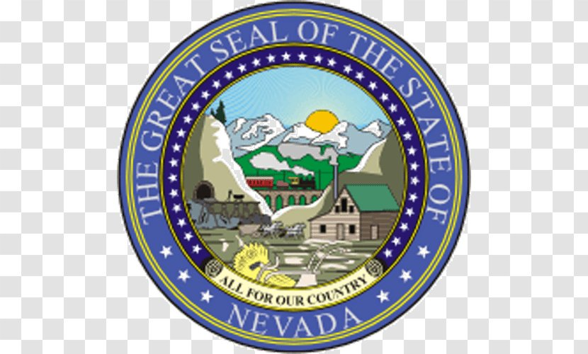 Seal Of Nevada U S State Great The United States Transparent Png Black white red green blue yellow siguiente. united states transparent png
