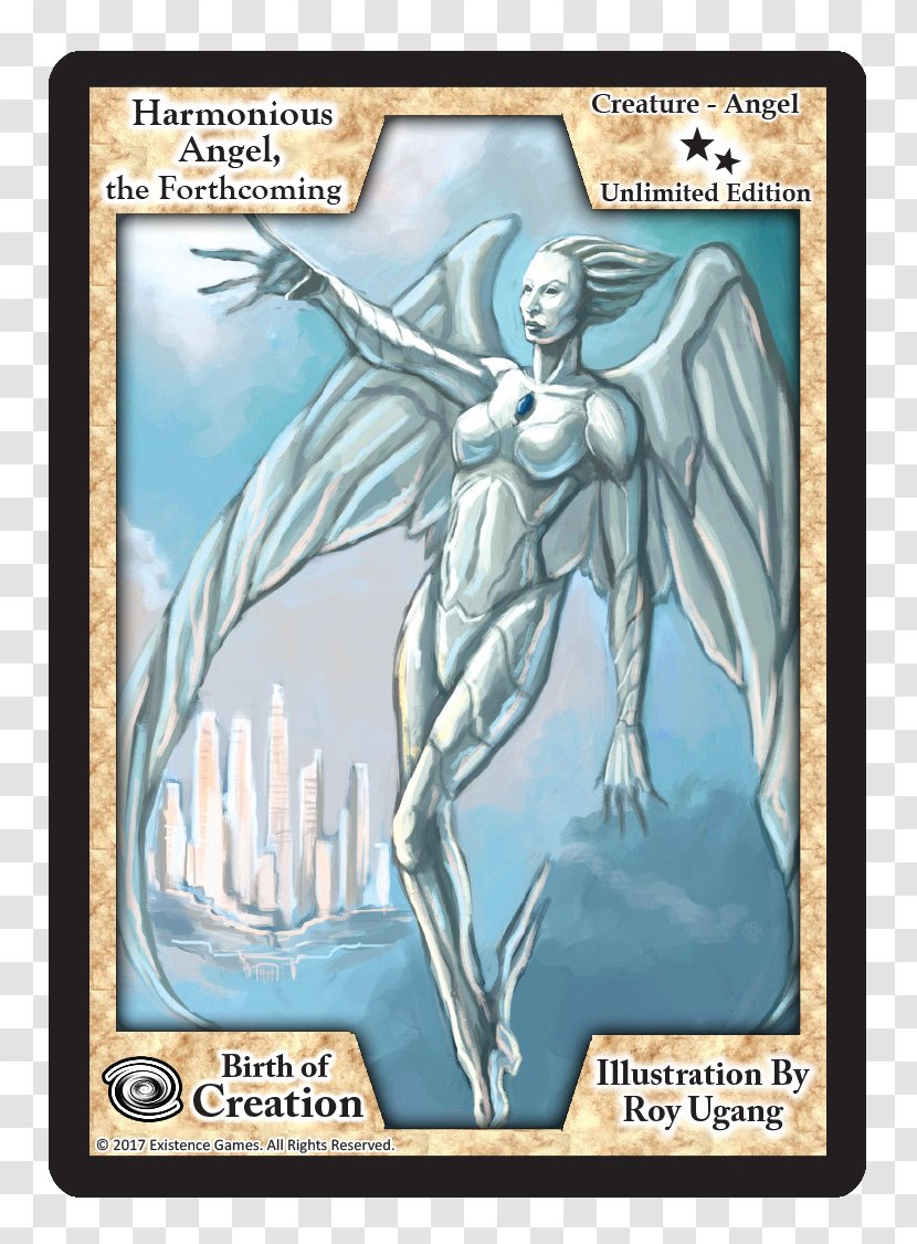 Collectible Card Game Playing Cartoon - Legendary Creature - Exodus Transparent PNG