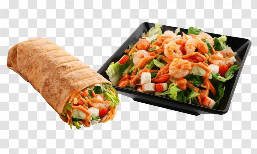 Simply Wrapps Caesar Salad Seafood Transparent PNG