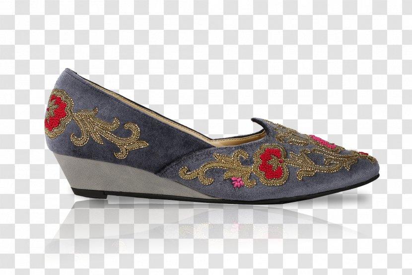 Slip-on Shoe Wedge High-heeled Ballet