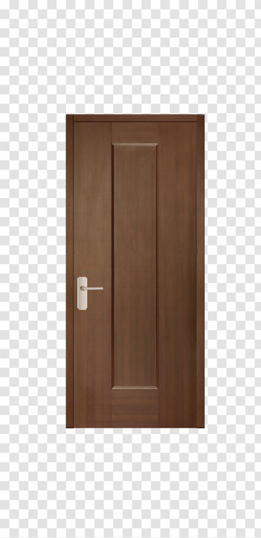 Hardwood Door Brown Transparent PNG