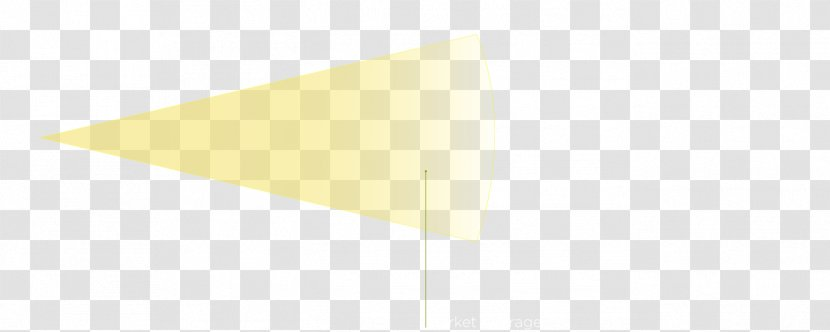 Triangle Line Rectangle - Yellow - Light Rays Transparent PNG