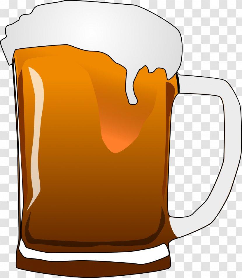 Beer Glasses Lager Clip Art - Glass - Budweiser Transparent PNG