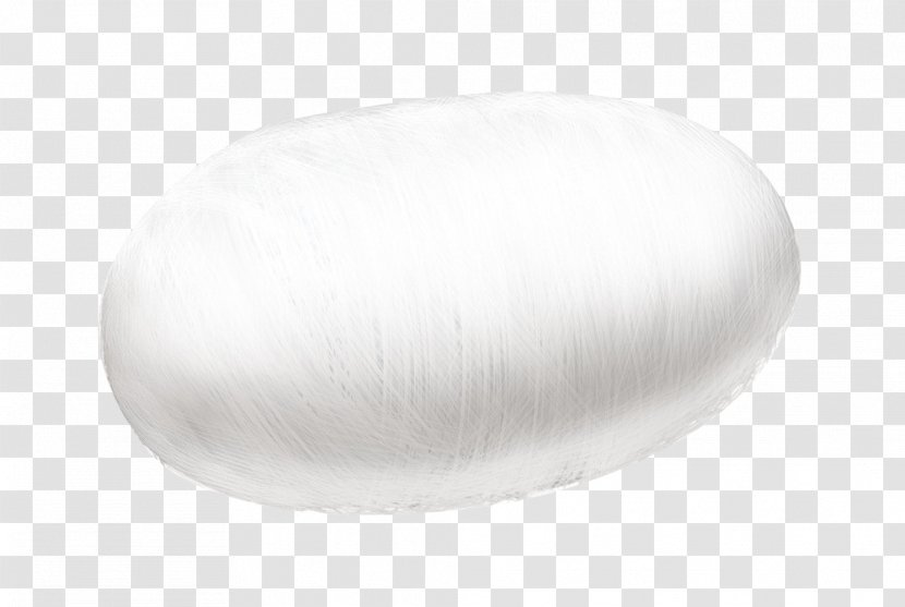 Oval - White Cocoon Shape Transparent PNG