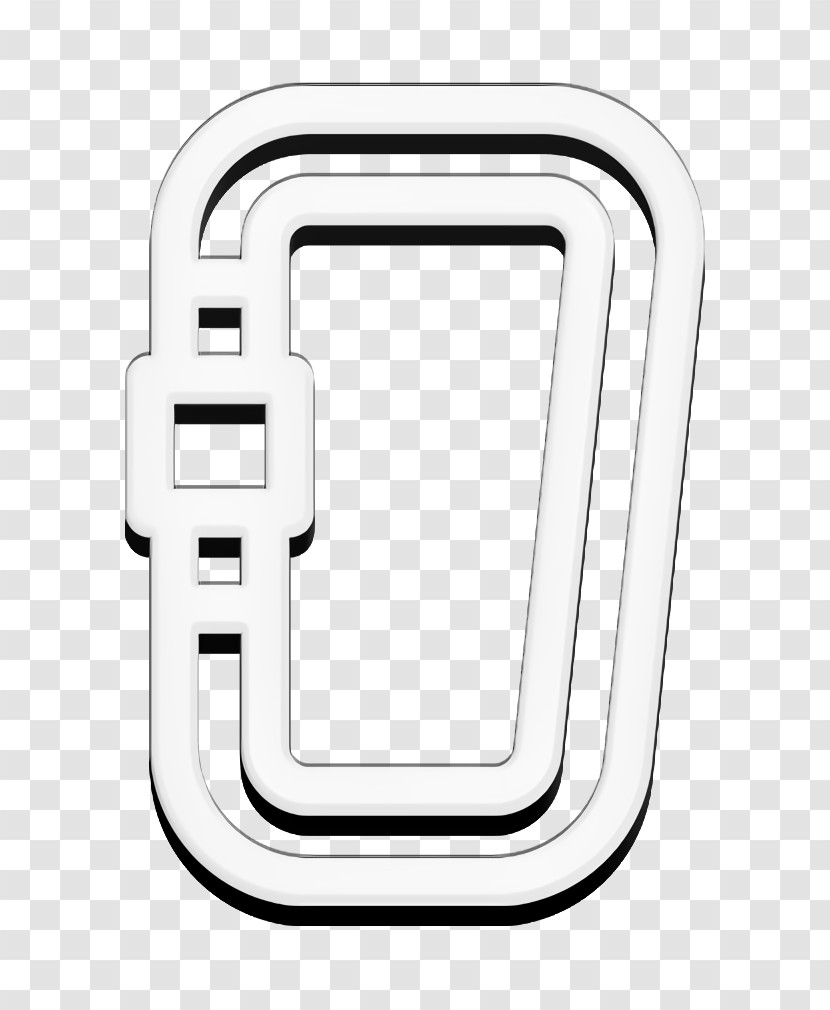 Carabiner Icon Sports And Competition Icon Summer Camp Icon Transparent PNG