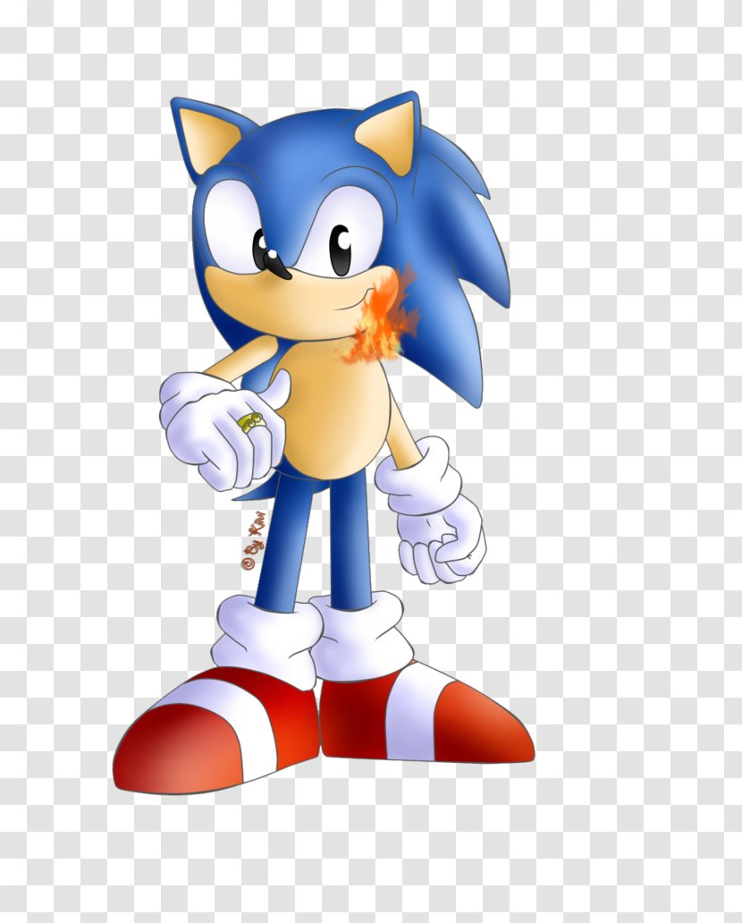 Sonic And The Secret Rings Hedgehog Shadow Tails Wii Figurine Transparent Png