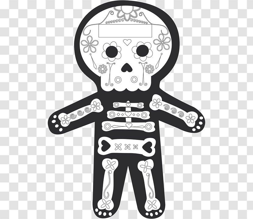 Tattoo Skull La Calavera Catrina Vector Human Clipart - Tattoo Design  Calavera Catrina , Free Transparent Clipart - ClipartKey