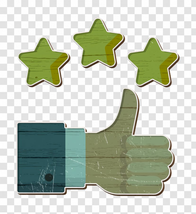 Thumbs Up Icon Good Employees - Cookie Cutter Symbol Transparent PNG