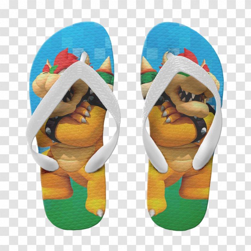 mario bros flip flops