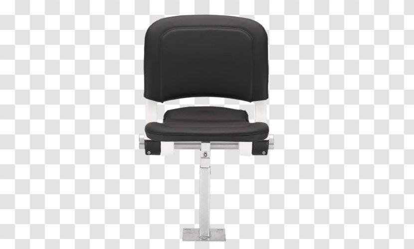 Office & Desk Chairs Armrest - Black - Design Transparent PNG