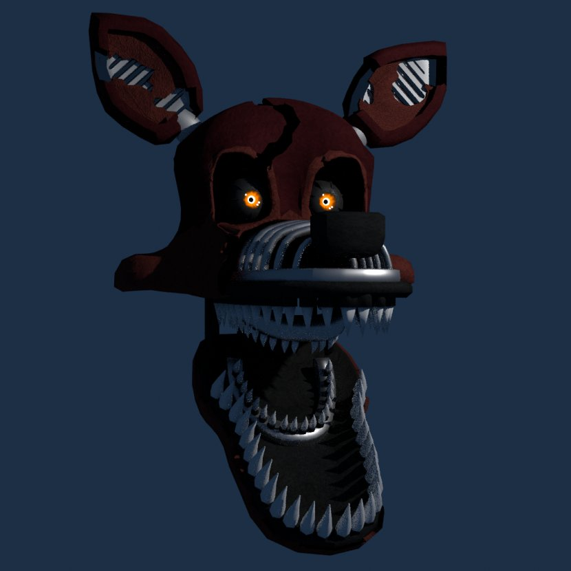 Five Nights At Freddy S 4 Jump Scare Nightmare Deviantart Foxy Transparent Png