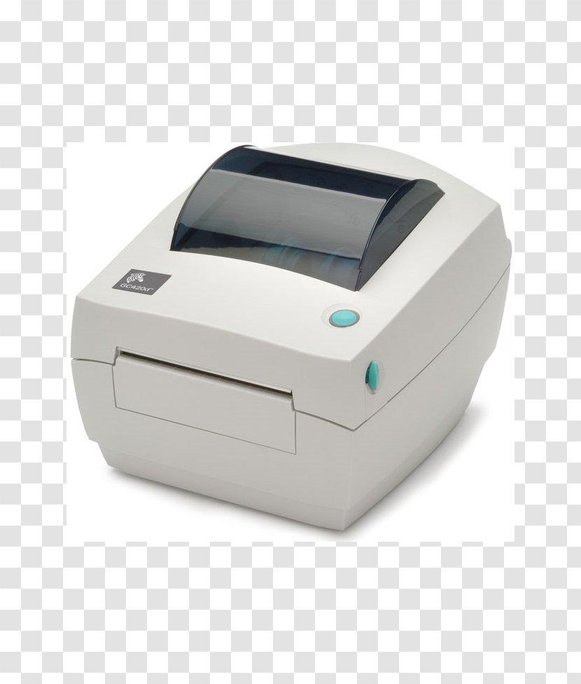 Zebra GC420 Technologies Label Printer Thermal Printing - Output Device Transparent PNG