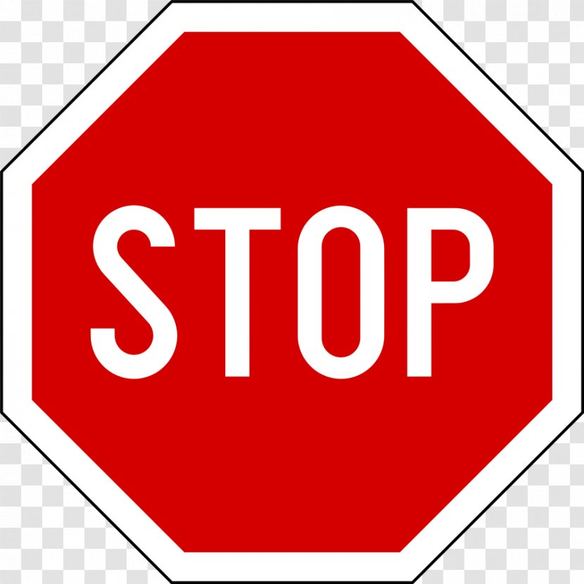Stop Sign Traffic Vehicle Road Transparent PNG