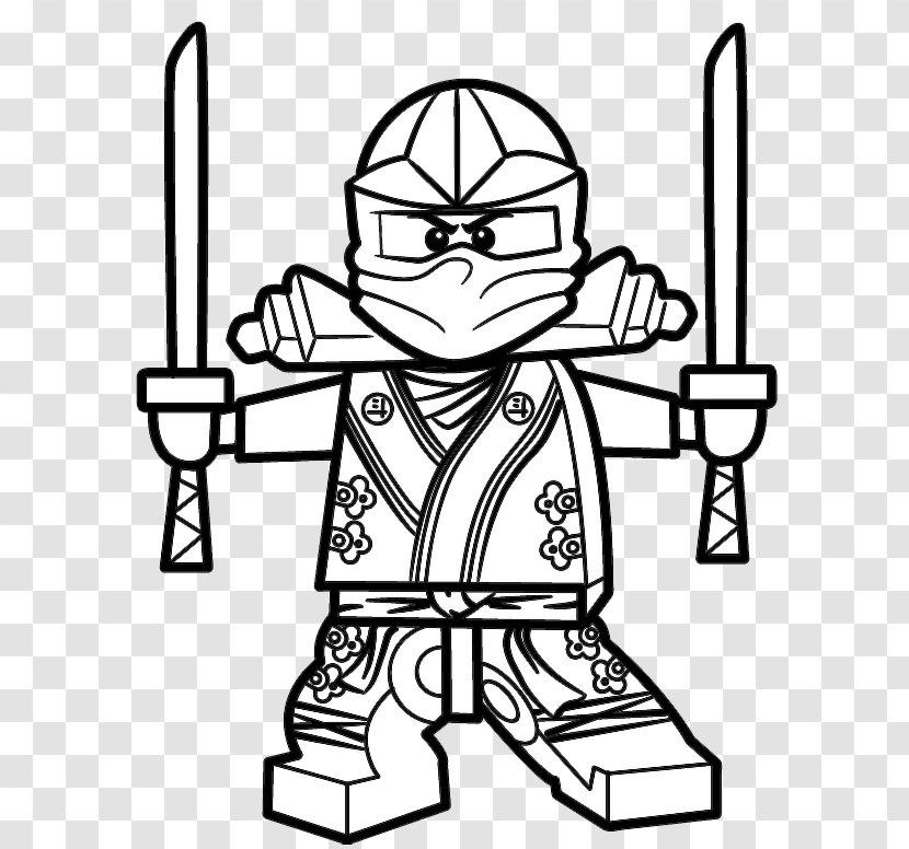 Lloyd Garmadon Lego Ninjago Coloring Book Sensei Wu - Ninja Transparent PNG