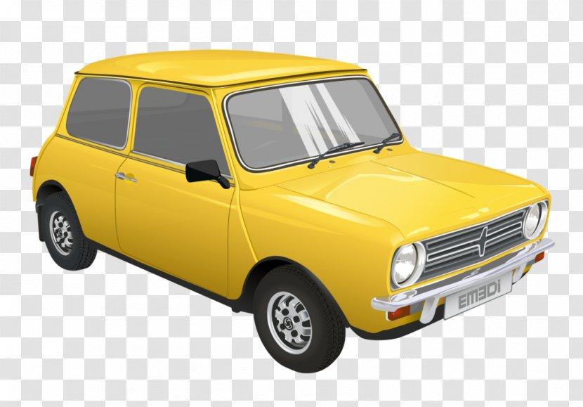 City Car Innocenti Mini Transparent PNG