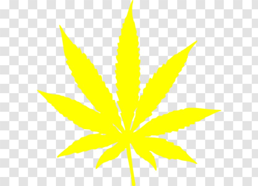 Cannabis Sativa Leaf Clip Art Hemp Cartoon Weed Plant Transparent Png
