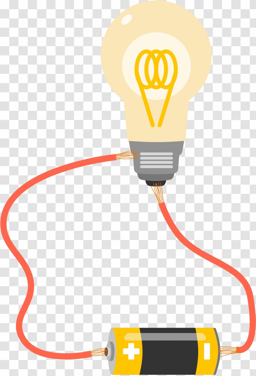 Wiring Diagram Incandescent Light Bulb Wire Electricity - Electronic Circuit - IDEA Transparent PNG