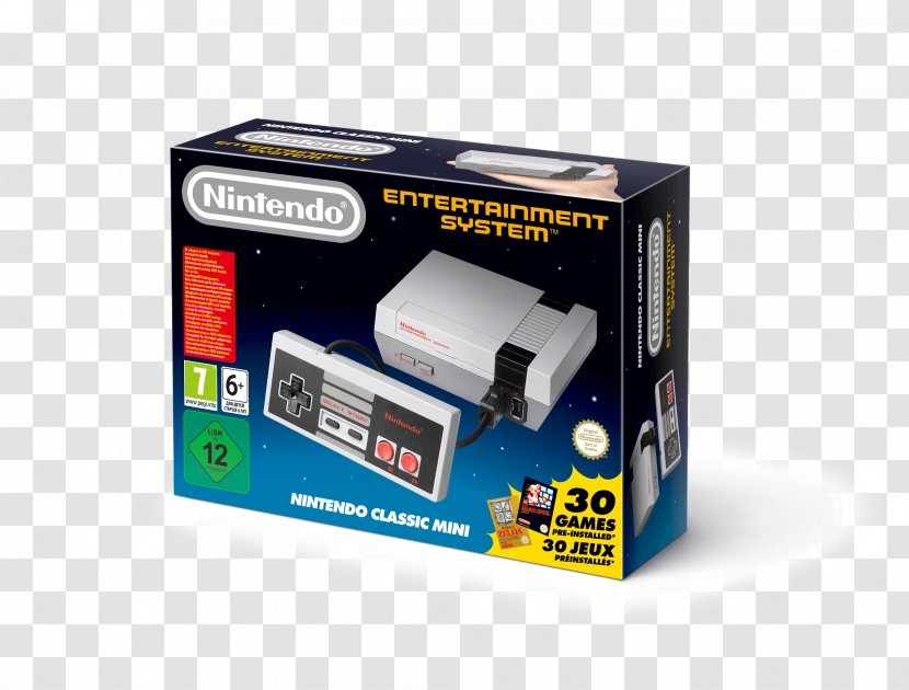 Super Nintendo Entertainment System Nes Classic Edition Video Game Transparent Png