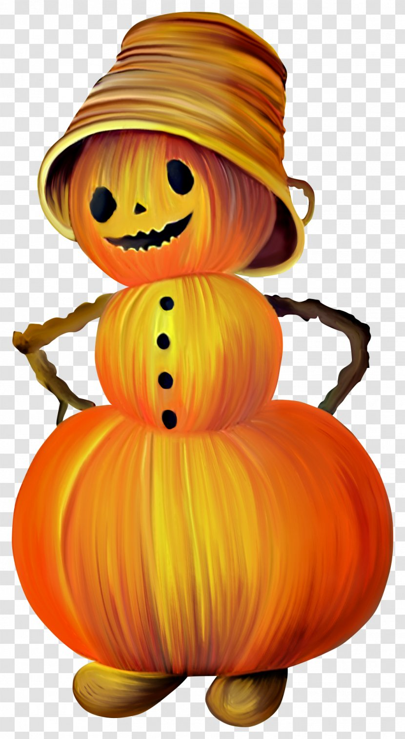 Halloween Jack-o-lantern Pumpkin Clip Art - Jackolantern - Brown Man Transparent PNG