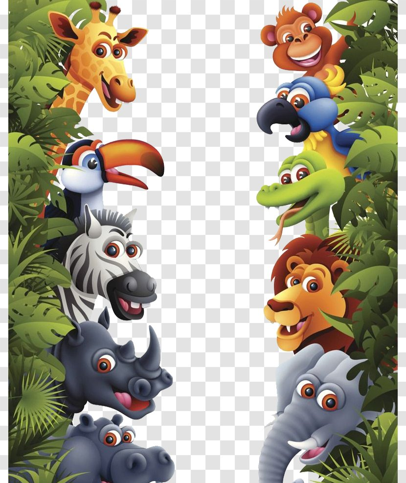 Jungle Tropical Rainforest Animal Lion - Plant - Small Animals In Rainforests Transparent PNG