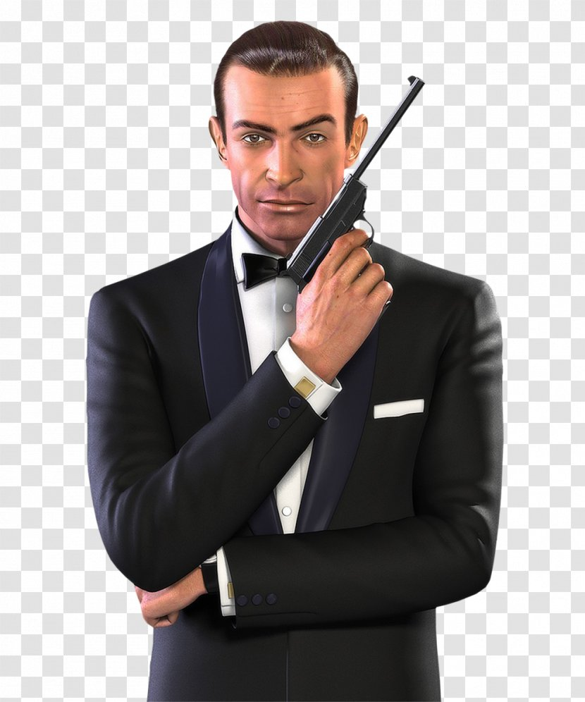 Sean Connery James Bond 007 From Russia With Love Film Series Tuxedo Transparent Png