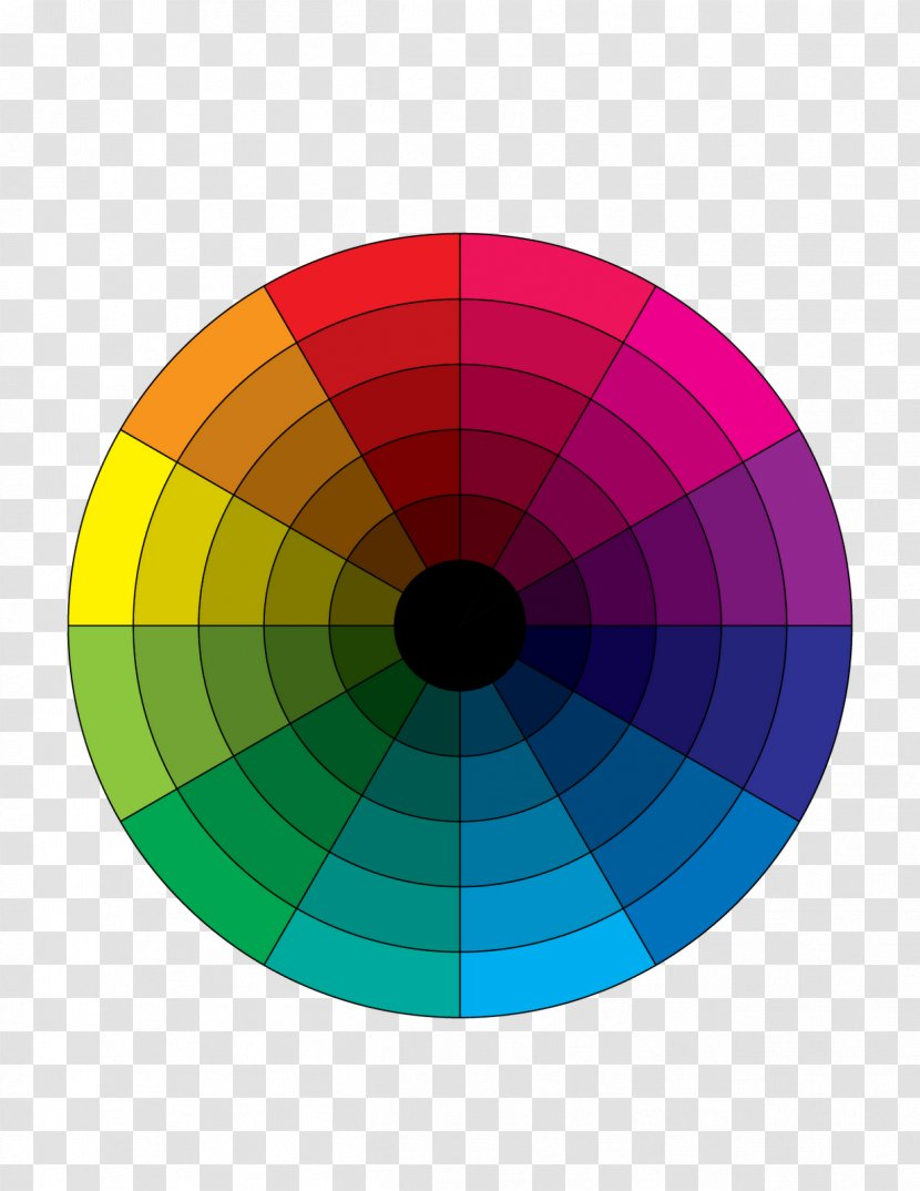 Tertiary Color Wheel Youtube Complementary Colors Transparent Png