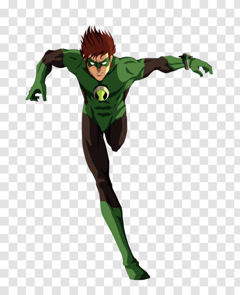 Green Lantern Ben 10 Cartoon Network Superhero Character Fictional Ben Transparent Png