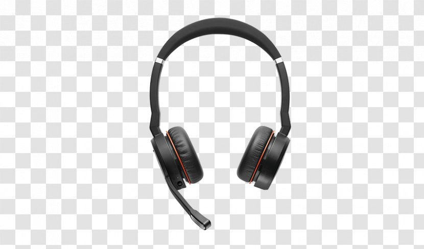 Gn Group Jabra Evolve 75 Uc Stereo Headset Stereophonic Sound Noisecancelling Headphones Bluetooth Transparent Png