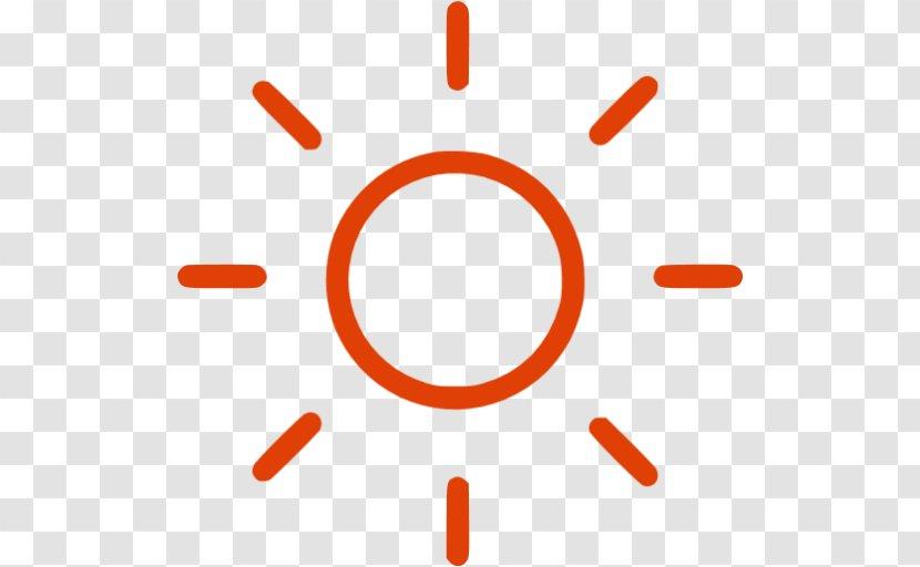 Line Font - Orange - Design Transparent PNG