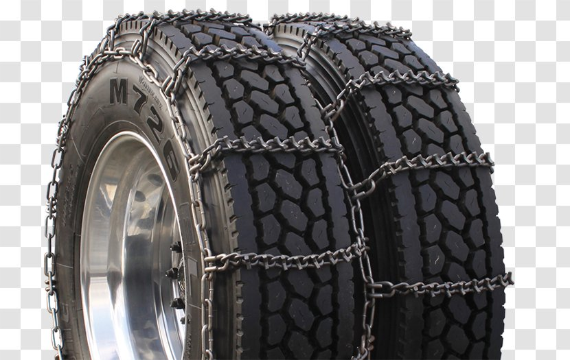 Pickup Truck Car Snow Chains Tire Transparent PNG