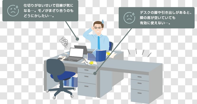 Desk Table Office Supplies Drawer - Medical Transparent PNG