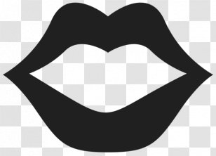 Smiling Mouth Icon On Black And White Vector Backgrounds High-Res Vector  Graphic - Getty Images