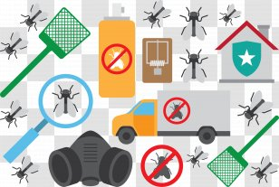 Mosquito Repellent Coil And Mosquito Royalty Free Cliparts, Vectors, And  Stock Illustration. Image 58069641.