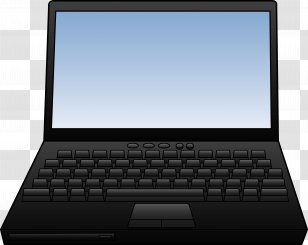 Laptop Computer Keyboard Clip Art Monitor Free Pictures Of Computers Transparent Png