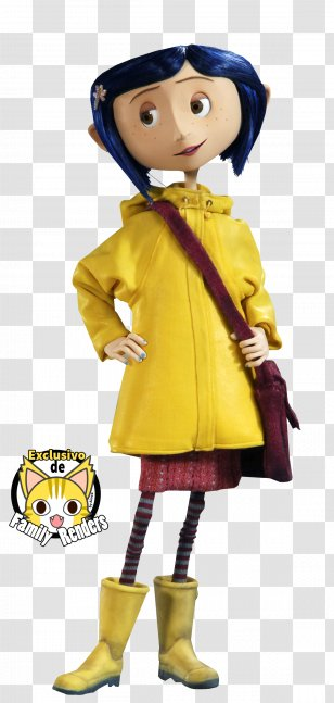 Coraline Jones Wybie Lovat Youtube Other Mother Youtube Transparent Png