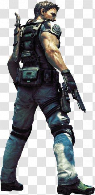 Resident Evil 5 Chris Redfield 6 Jill Valentine 7 Biohazard Kratos Benoit Transparent Png