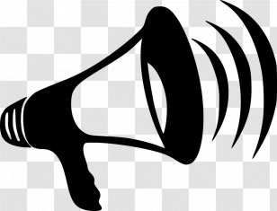 Clipart Freeuse Cheerleading Megaphones X Carwad Net - White Megaphone  Clipart - Png Download (#4409) - PinClipart
