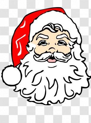 Cartoon of Santa Claus Taking Karate Lessons - Royalty Free Clip Art Image