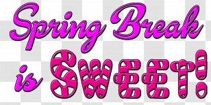 Spring Break Logo Cancun Transparent Png