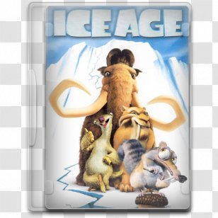 Manfred Sid Scrat Woolly Mammoth Ice Age The Meltdown Transparent Png