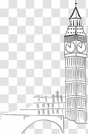 Big Ben Palace Of Westminster Silhouette Clip Art - Houses Of Parliament  Clipart , Free Transparent Clipart - ClipartKey
