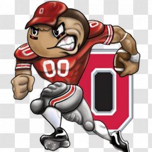 Ohio State University Buckeyes Football Brutus Buckeye Clip Art Dog Like Mammal Head Cliparts Transparent Png