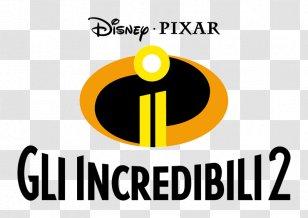 The Incredibles Pixar Animated Film Superhero Movie Logo Transparent Png